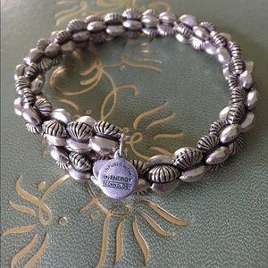 Alex & Ani Adjustable Bracelet in Silver